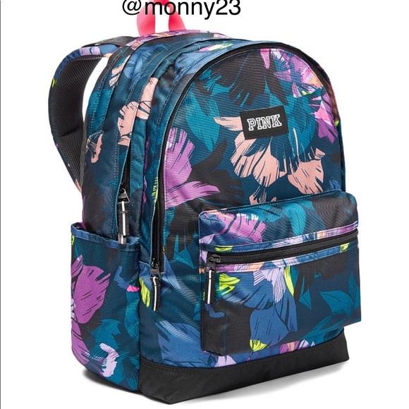 a9ed83cf7d8 Victoria s Secret PINK Tropical Campus Backpack